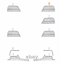 New Genuine Audi A3 S3 Fog Light Covering Cooling Air Grill Left + Right