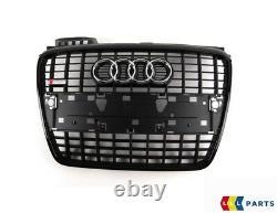 New Genuine Audi A4 B7 2005-2008 Front Bumper S Line Main Center Grille