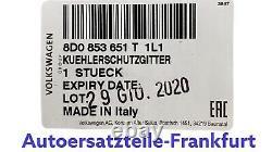 ORIGINAL Kühlergrill Grill Alu matt glänzend S4 RS4 8D AUDI A4 B5 8D0853651T 1L1