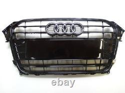 Original Audi A4 8K B8 Kühlergrill Frontgrill schwarz glänzend 8K0853651F ALZ