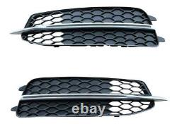 Original Audi S-Line Stoßstange Gitter Links + Rechts Audi A6 4G C7 2010-5/2015