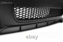 RS Style NEW Full Front Bumper with Black grill For Audi A4 B7 04-08