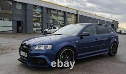 RS3 Front Honeycomb Grill for Audi A3 8P 08-12 BLACK GLOSS