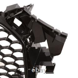 Rs4 Style Black Debadged Sport Grill Badge Holder Grille For Audi A4 8k 13-16