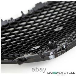 Sport Front Grille Honeycomb Black Gloss fits on Audi A5 8T Sportback 2007-2011
