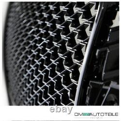 Sport Kühlergrill Wabengrill Schwarz glanz passt für Audi A3 8V ohne RS3 Quattro