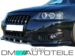 Sport Stoßstange vorne + Kühlergrill + NSW SET passt für Audi A3 8L ab 1996-2003