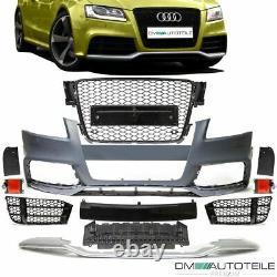 Sport Umbau Stoßstange vorne Wabengrill passt für Audi A5 8T ab 07-12 kein RS5