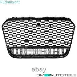 Sport Waben Kühlergrill glanz Schwarz passt für Audi A6 4G C7 ab 10-15 kein RS6