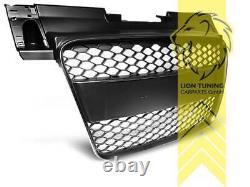 Sportgrill Kühlergrill für Audi TT 8J schwarz auch für S-Line TT S und TT RS