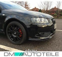 Stoßstange + Grill Chrom Schwarz + Nebel passt für Audi A3 8P ab 03-08 nicht S3