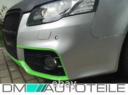 Stoßstange Stoßfänger + Kühlergrill Wabengitter passend für Audi A4 B7 von 04-08