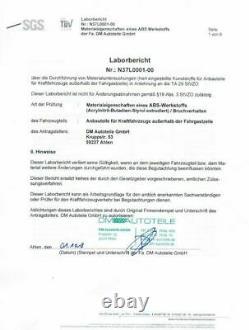 Stoßstange vorne + Wabengrill Schwarz passt für Audi A3 8P 8PA ab 08-12 kein RS3