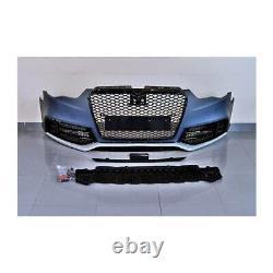 Stoßstange vorne für Audi A5 B8 8K S5 ABS Gitter Front Schürze Kühlergrill RS5
