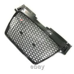TT Front Grill Mesh Grille for Audi TT TTS 8J Coupe 2008-14 To TTRS Style Black